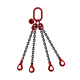 DIN EN 818-4 Grade 80 Chain Lifting Slings